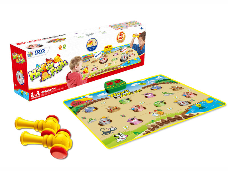 Whac-A-Mole game funny game cartoon toy