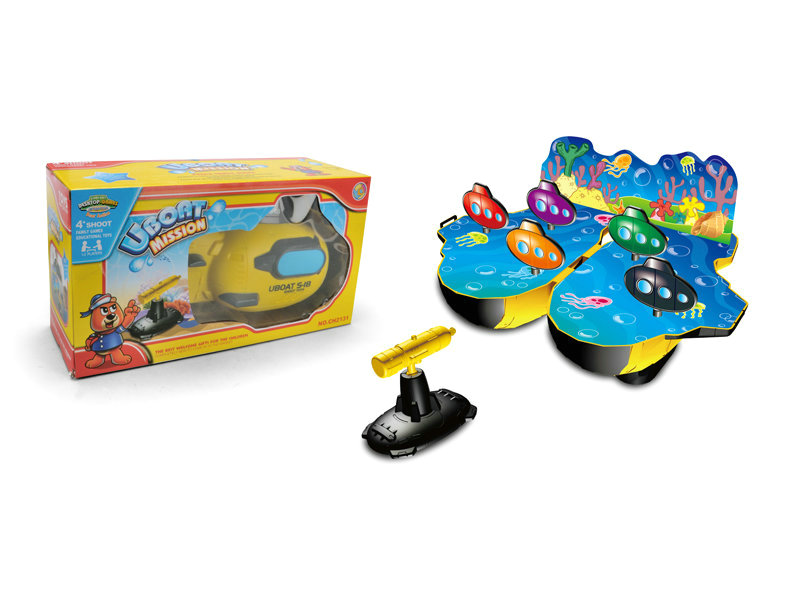 Shooting game toy shooter submarine game toy sport toy