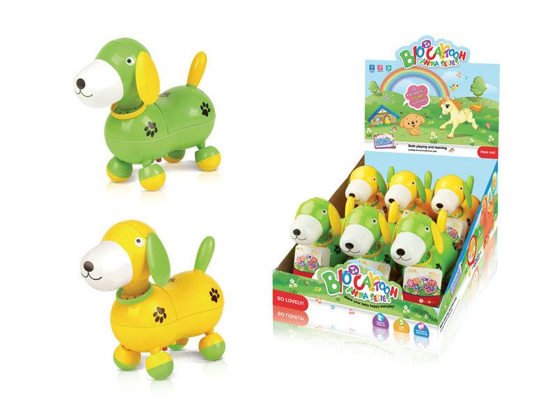 B/O dog cartoon animal toy funny toy