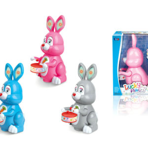 B/O universal toy cartoon rabbit funny toy