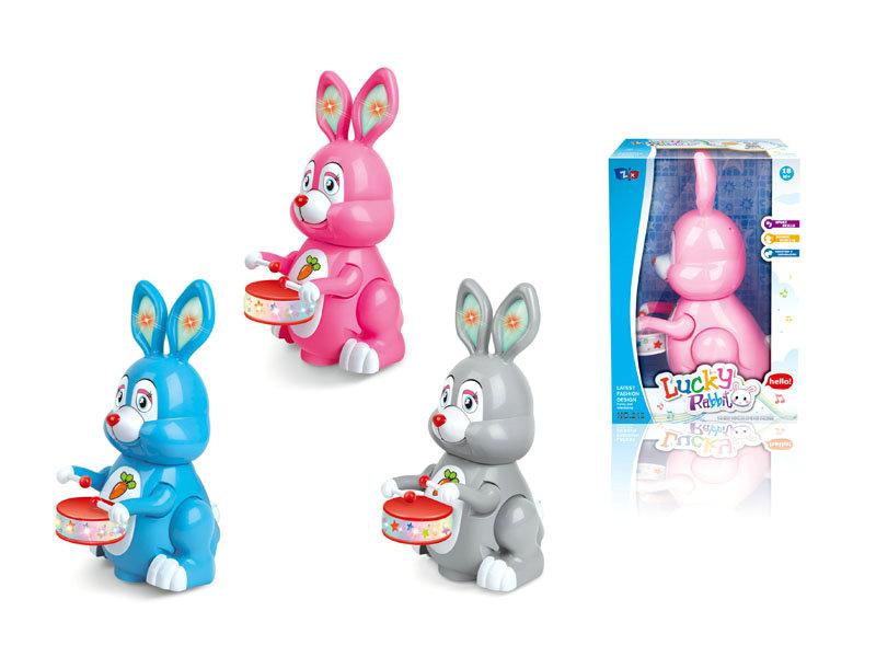 B/O universal toy cartoon rabbit funny toy