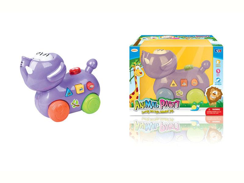 B/O elephant toy cartoon animal toy funny toy