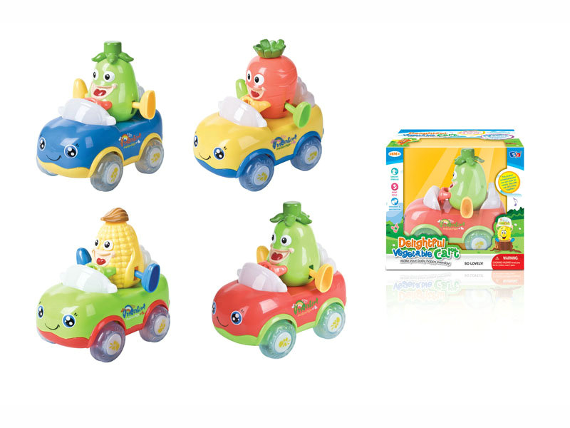 B/O car toy cartoon greenstuff car funny toy