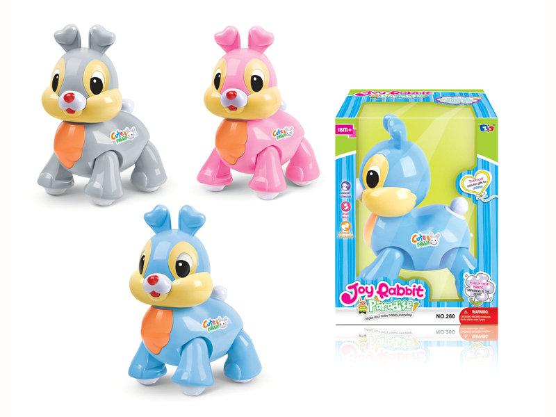 B/O rabbit cartoon animal toy funny toy
