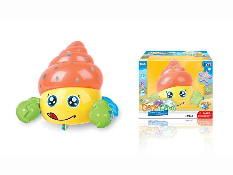 B/O conch cartoon animal toy funny toy