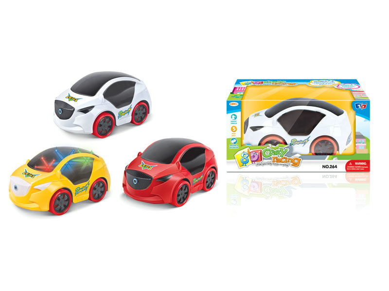 B/O car cartoon car toy funny toy