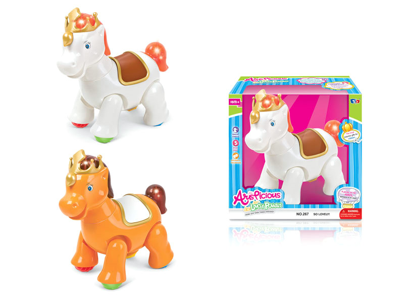 B/O horse cartoon animal toy funny toy
