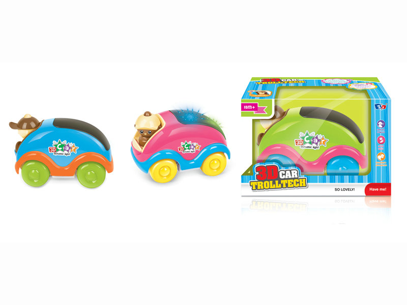 B/O cartoon car toy vehicle funny toy