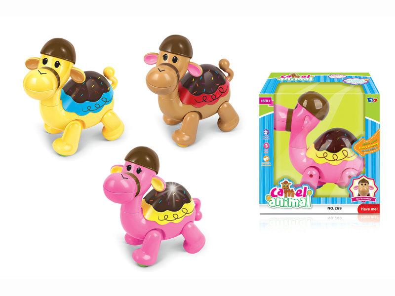 B/O camel cartoon animal toy funny toy