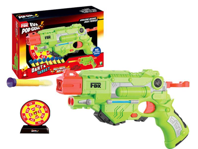 Soft bullet gun toy shooting game toy sport toy