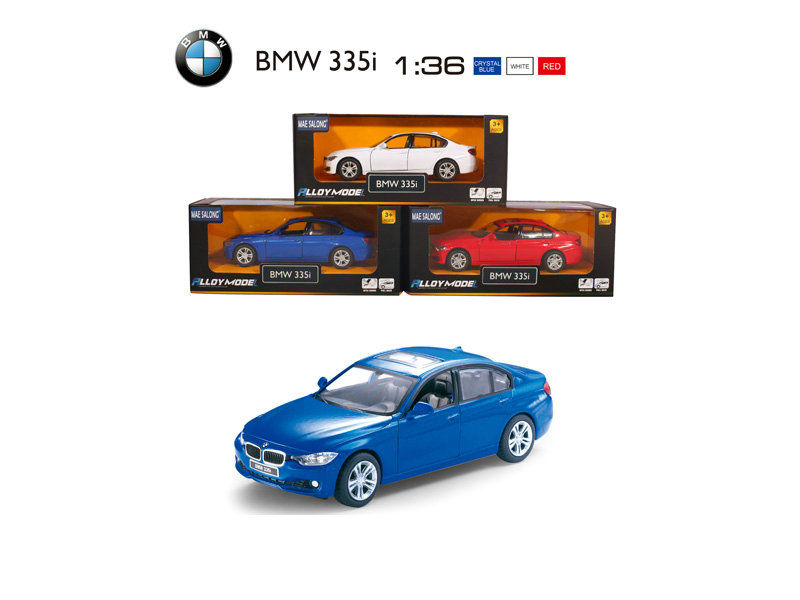 metal BMW car vehicle toy pull back toy