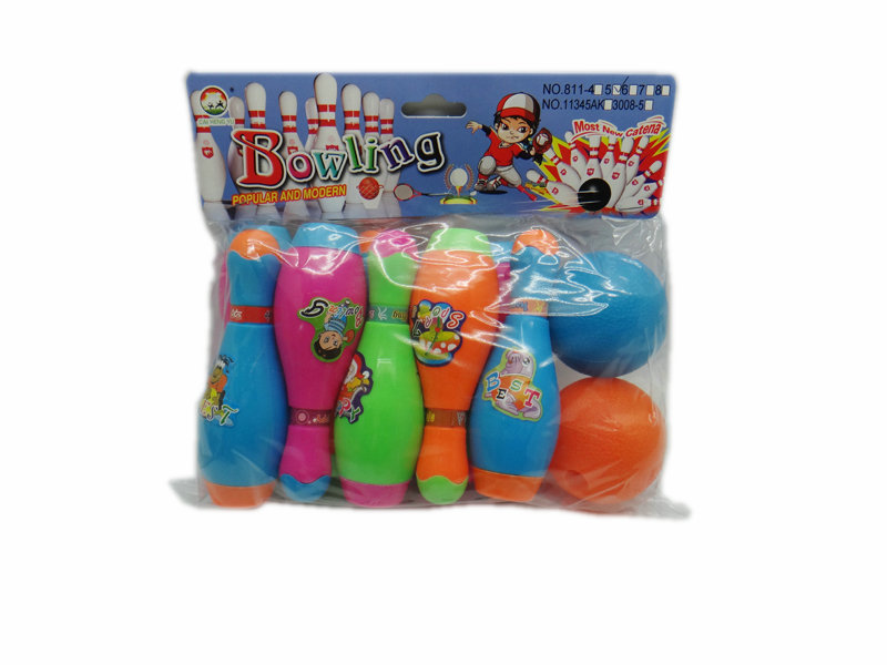 bowling toy sport toy outdoor toy