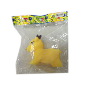 vinyl sika deer animal toy bath toy
