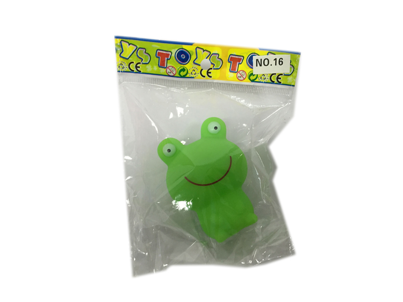 vinyl frog toy animal toy bath toy