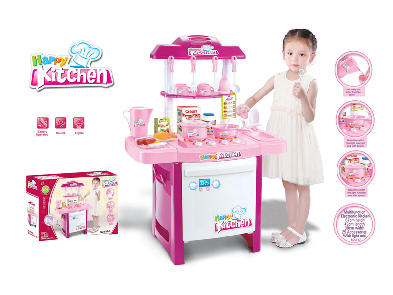 cooking table toy cute toy kitchen toy