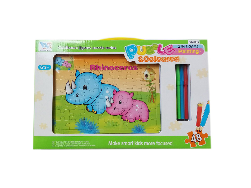 puzzle toy DIY toy educational toy