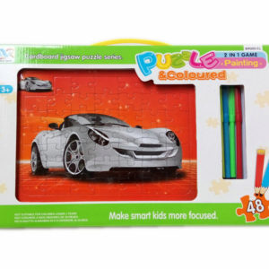 car puzzle educational toy DIY toy