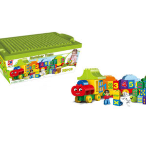 digital train blocks funny toy educational toy