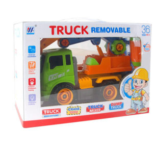 Friction truck toy construction truck vehicle toy