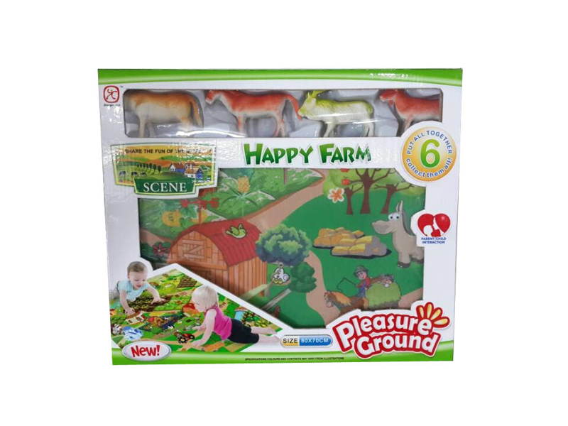 Farm Mat Play Mat Funny Game Toy Lilliput International