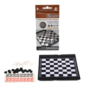 Checkers game table game intelligence toy