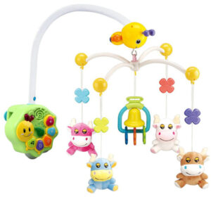 animal bed bell cow toy baby toy