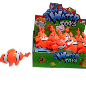 clownfish toy pull alone toy swimming toy