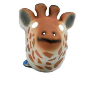 giraffe mask cute animal toy EVA toy
