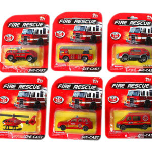 fire fighting truck cute vehicle metal toy