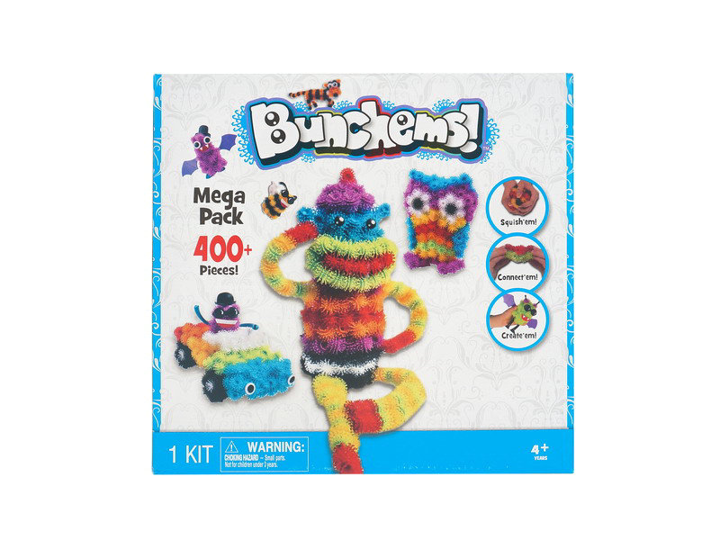 Bunchems toy magic ball toy DIY toy