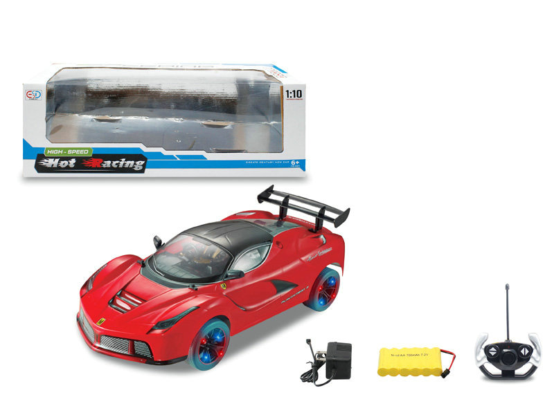 R/C car 4 channel car toy vehicle