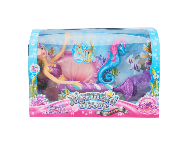 Mermaid toy doll toy girl toy