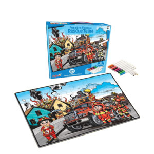 painting puzzle intelligence toy match it game
