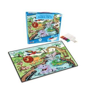 animal puzzle painting game intelligence toy