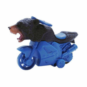 black bear toy friction powered animal motorcycle