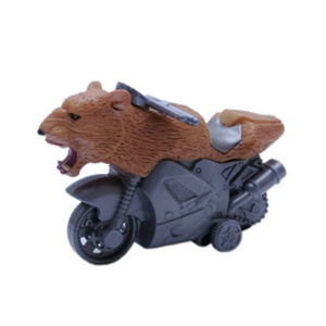 cougar toy animal motorcycle friction powered