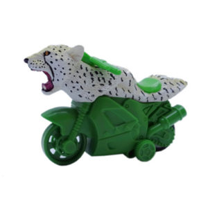 cheetah toy friction powered animal motorcycle