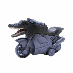 Crocodile motorbike toy friction motorbike novelty toys
