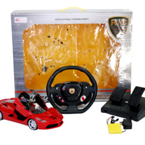 ferrari rc car hypersport toy one key open door
