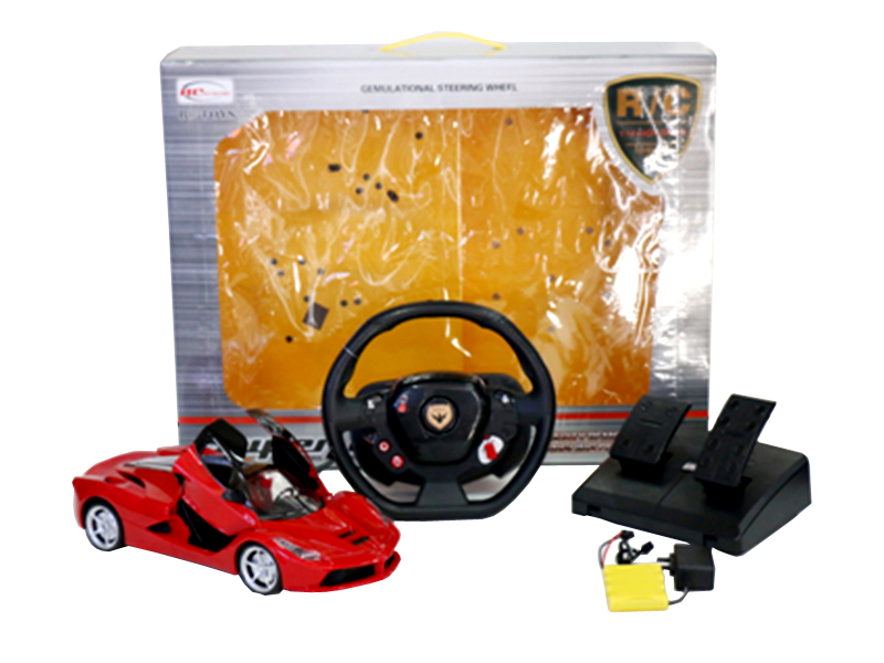 ferrari rc car hypersport toy one key open door