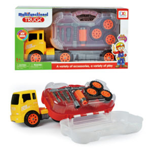 construction tool box assemble truck take a part toy