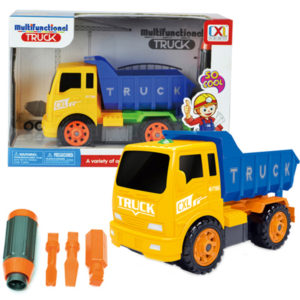 take apart dump assemble truck toy construction vehicle