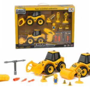assembly truck kit construction toy with tools take a part vehicle