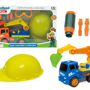 construction set toy assembly truck take a part vehicle