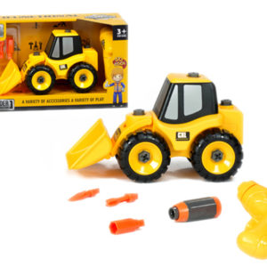 take a part truck construction toy assembly electric drill
