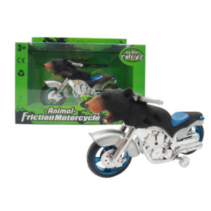 Black Bear motorcycle toy friction motorcycle animal machine