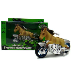 Akhal Teke Horse motorcycle toy friction motorcycle animal machine