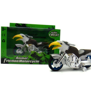 eagle motorcycle toy friction motorcycle animal machine