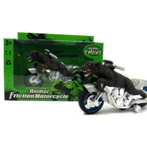 Panther motorcycle toy friction motorcycle animal machine