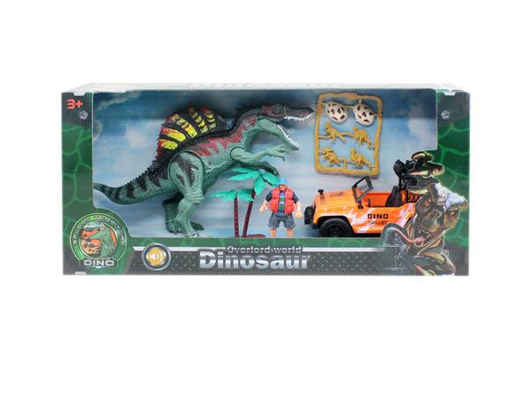 dinosaur big set toy dino playset action dinosaur model